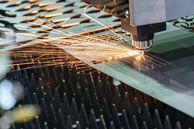 Decoupage laser de toles