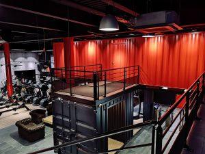 Transformation De Containers Pour La Marque De Fitness On Air Kaseo