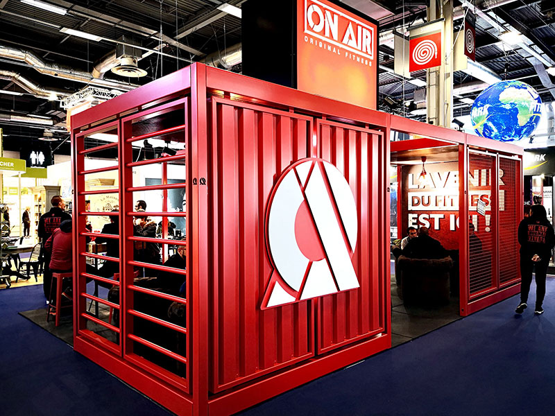 Stand On Air Fitness au salon de la franchise à Paris – mars 2019
